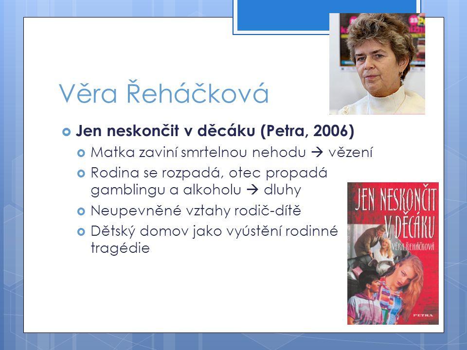 Věra Řeháčková Jen neskončit v děcáku (Petra, 2006)