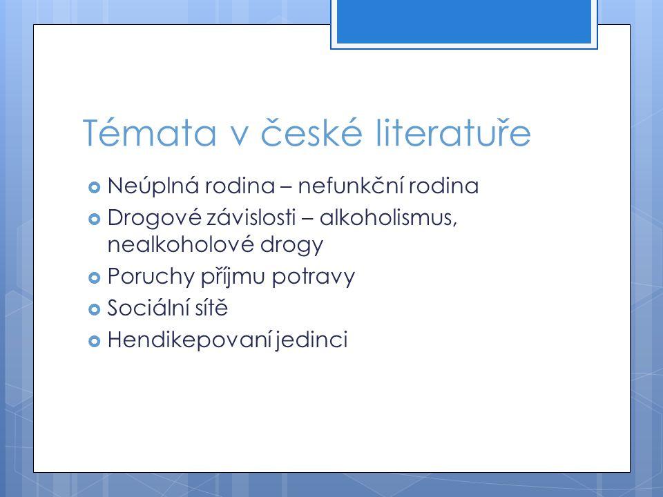 Témata v české literatuře