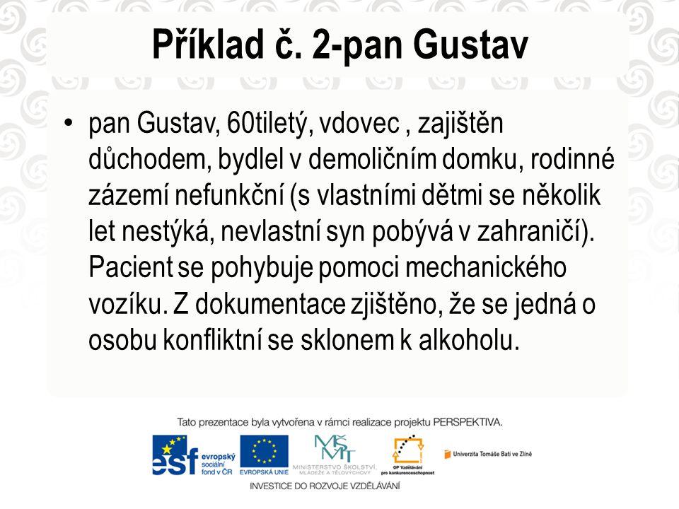 Příklad č. 2-pan Gustav