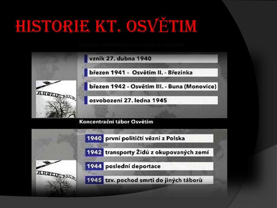 Historie KT. OSVĚTIM