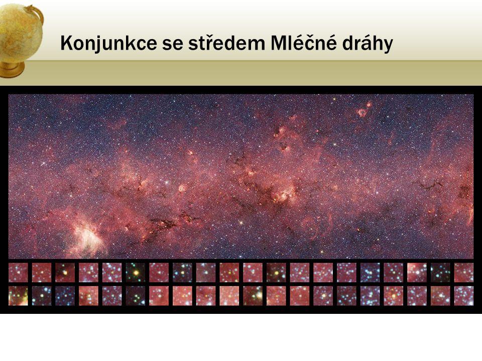 Konjunkce se středem Mléčné dráhy