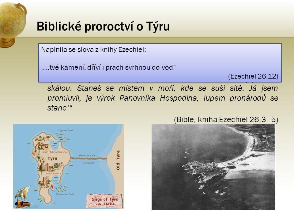 Biblické proroctví o Týru