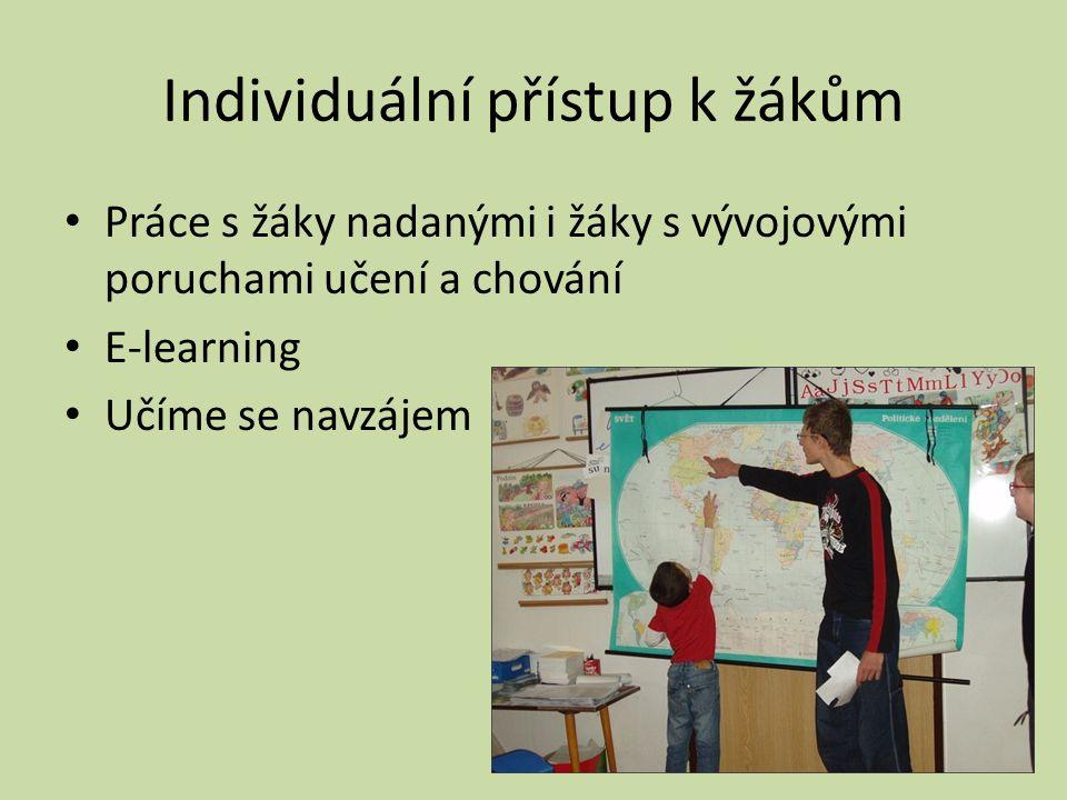 Individuální přístup k žákům