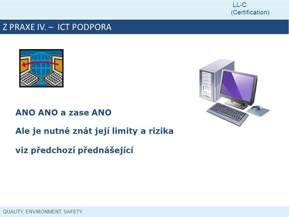 Z PRAXE IV. – ICT PODPORA ANO ANO a zase ANO