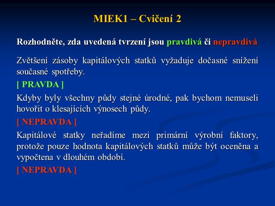 MIEK1 – Cvičení 2