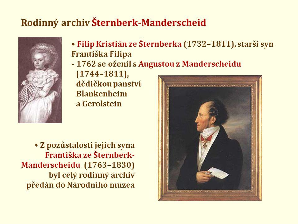 Rodinný archiv Šternberk-Manderscheid