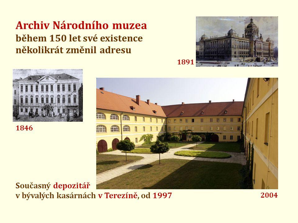 Archiv Národního muzea