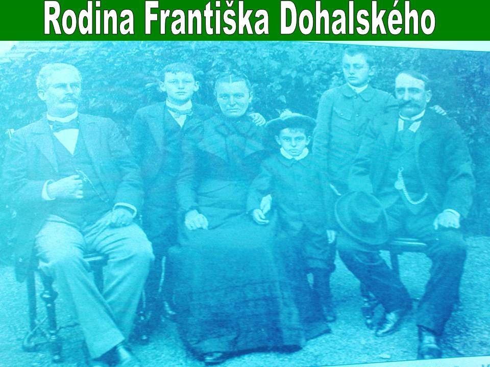 Rodina Františka Dohalského
