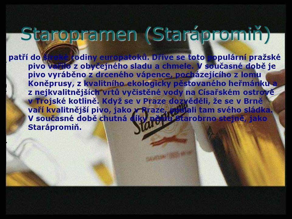 Staropramen (Starápromiň)