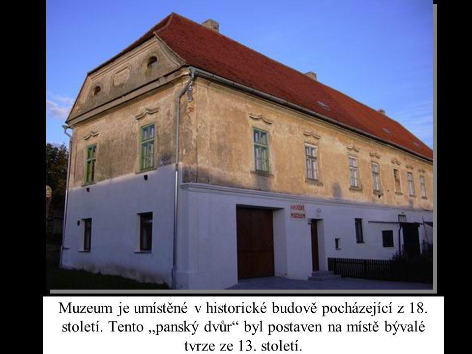 Muzeum je umístěné v historické budově pocházející z 18. století