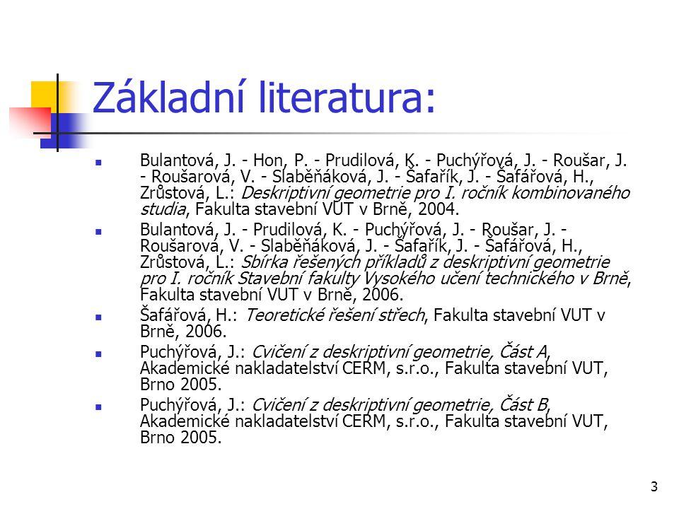 Základní literatura: