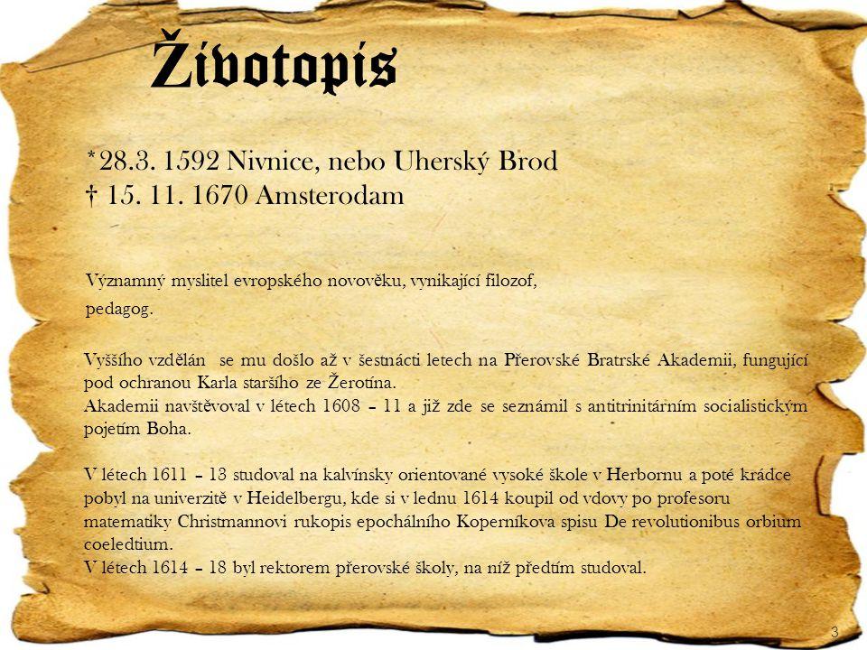 Životopis † 15. 11. 1670 Amsterodam