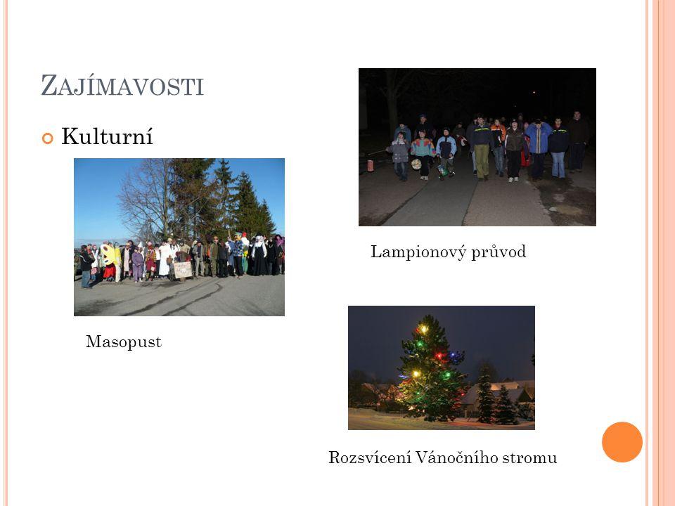 Zajímavosti Kulturní Lampionový průvod Masopust