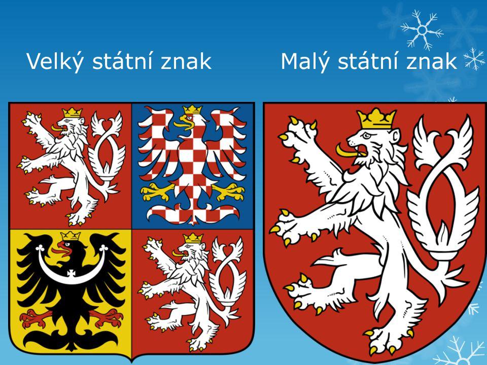 Velký státní znak Malý státní znak