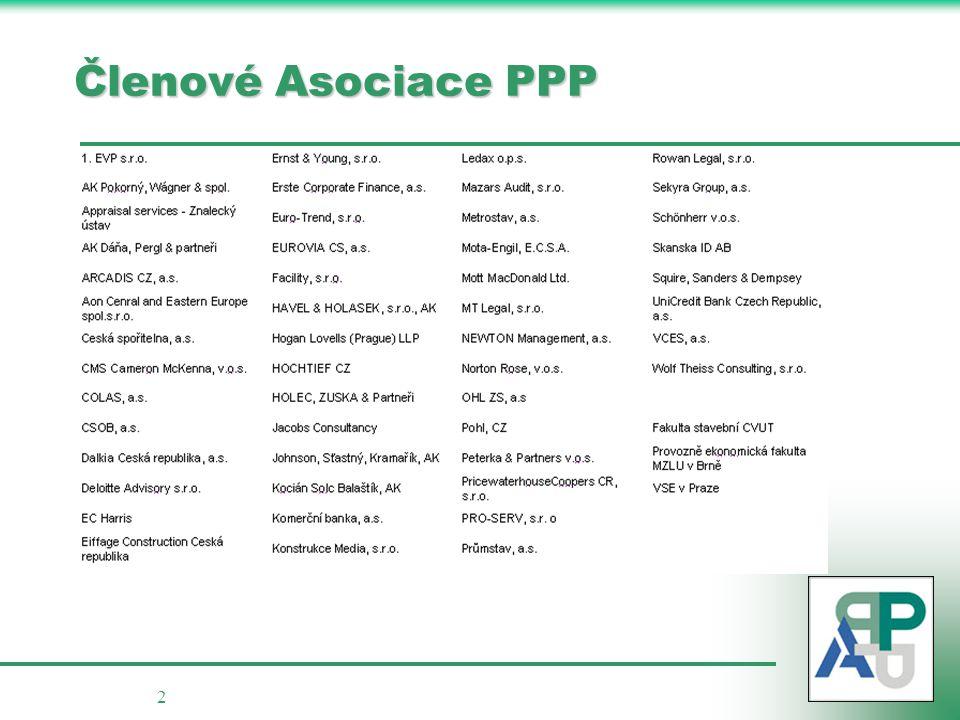 Členové Asociace PPP