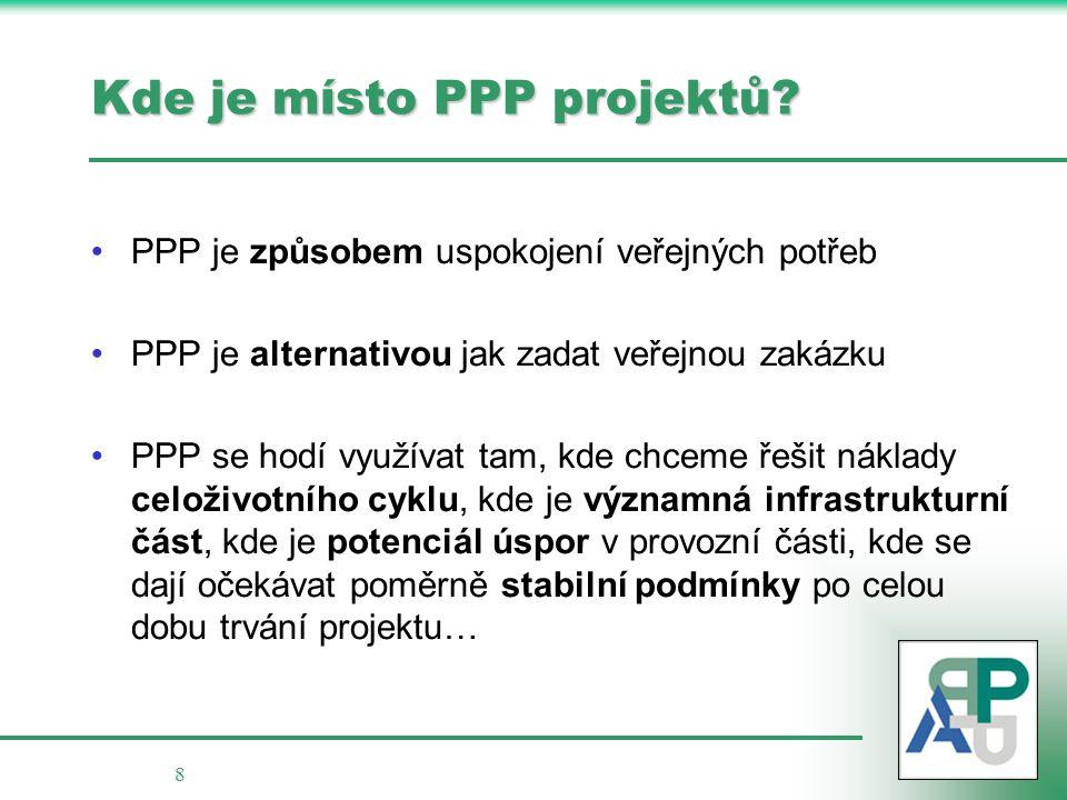 Kde je místo PPP projektů