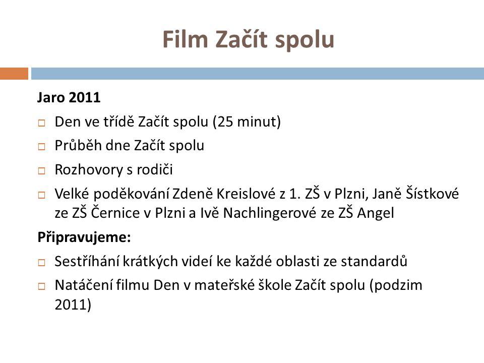 Film Začít spolu Jaro 2011 Den ve třídě Začít spolu (25 minut)