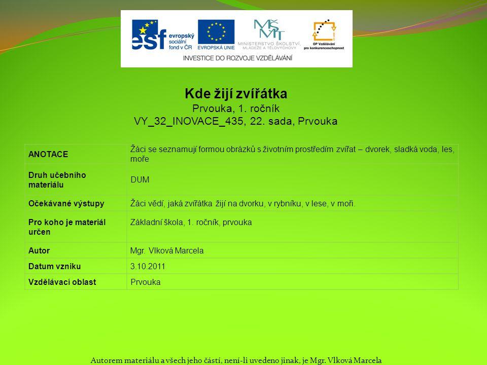 VY_32_INOVACE_435, 22. sada, Prvouka