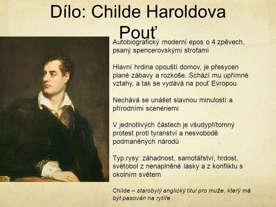 Dílo: Childe Haroldova Pouť