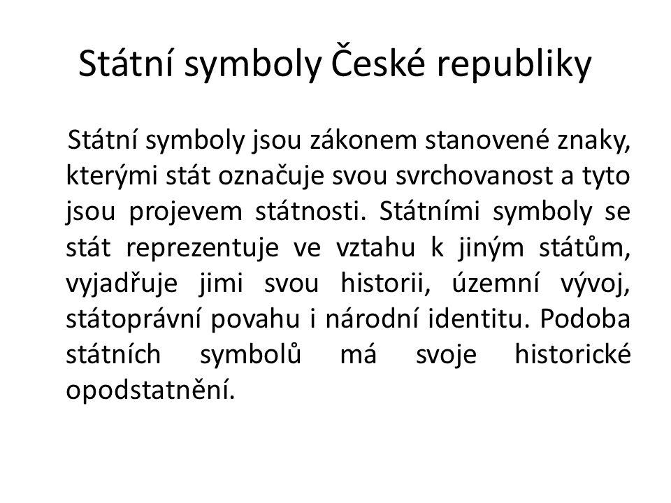 Státní symboly České republiky