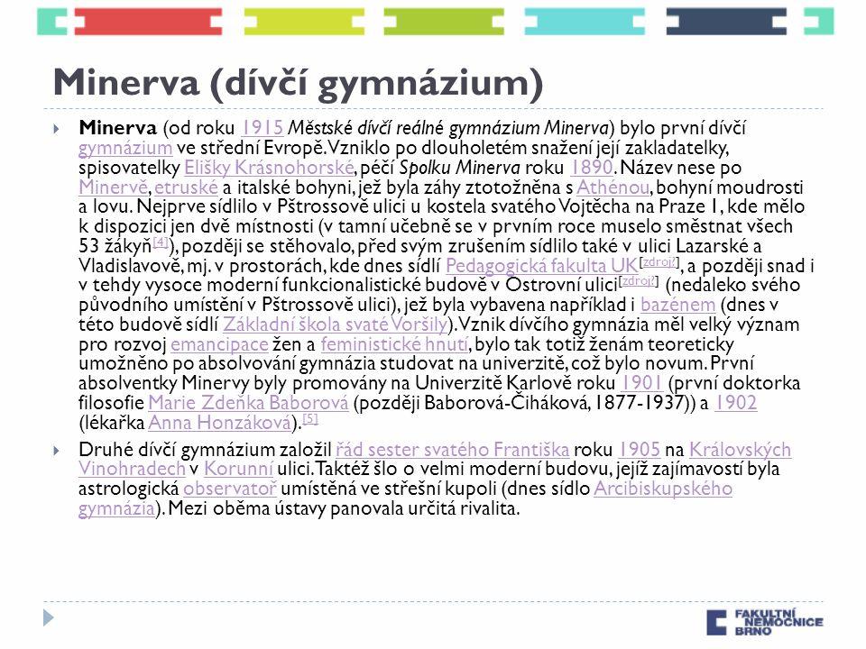 Minerva (dívčí gymnázium)
