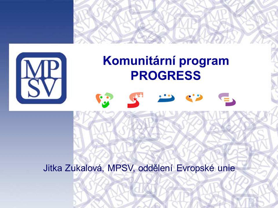 Komunitární program PROGRESS