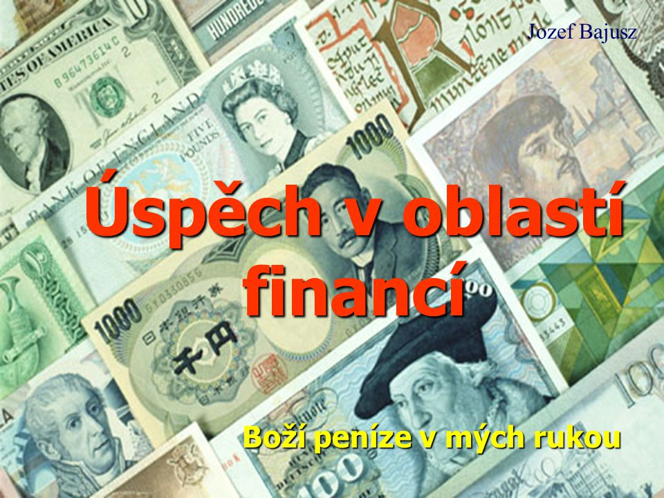 Úspěch v oblastí financí