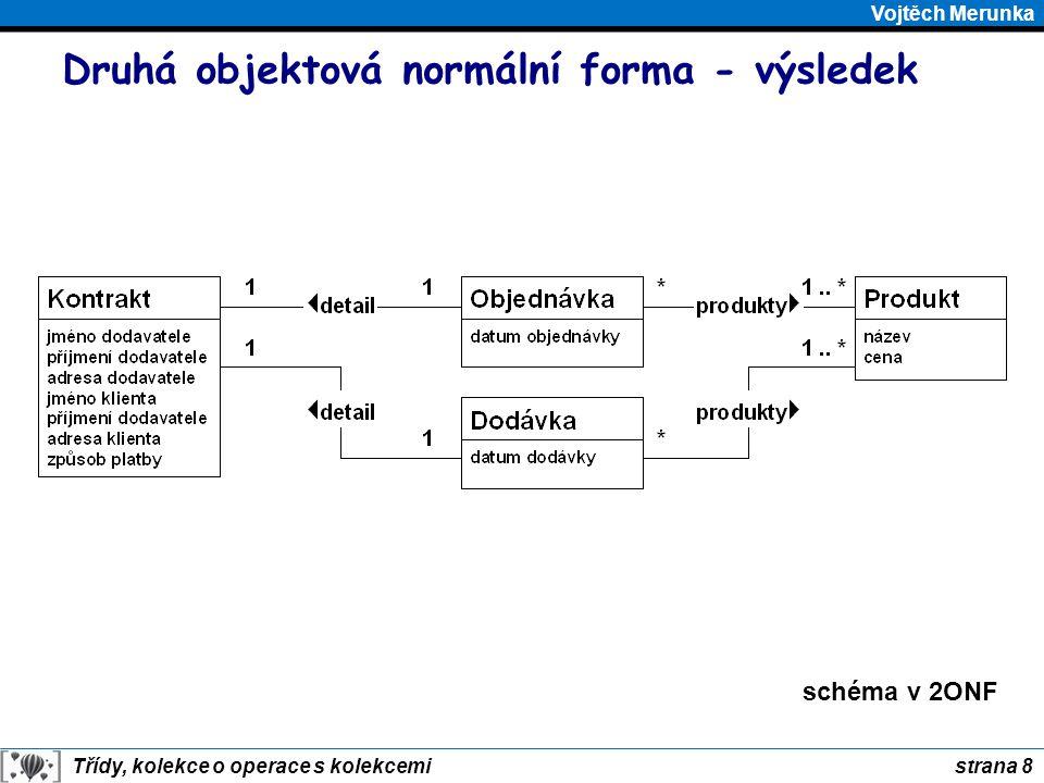 Druhá objektová normální forma - výsledek