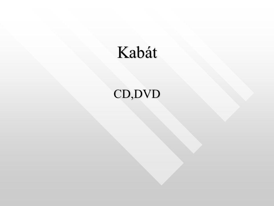 Kabát CD,DVD
