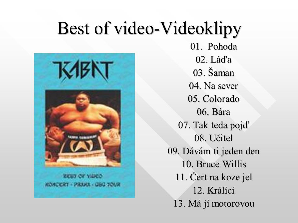 Best of video-Videoklipy