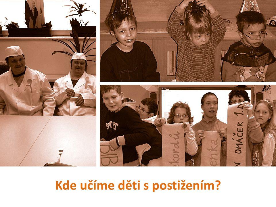 Kde učíme děti s postižením