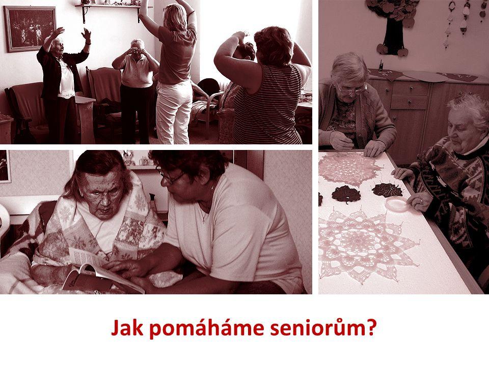 Jak pomáháme seniorům