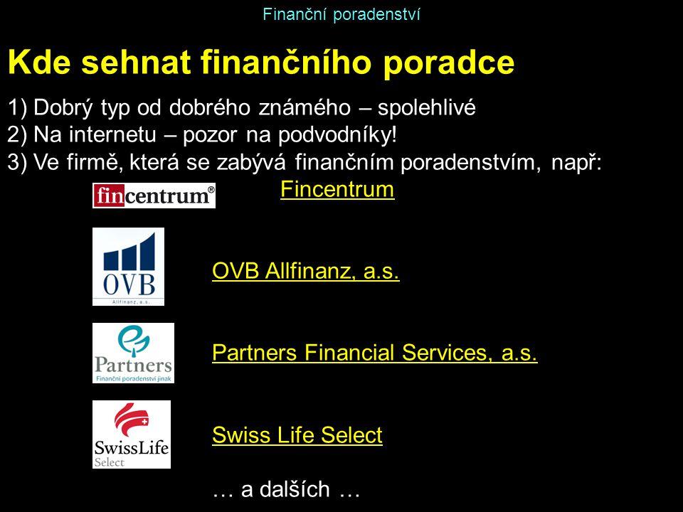 Kde sehnat finančního poradce