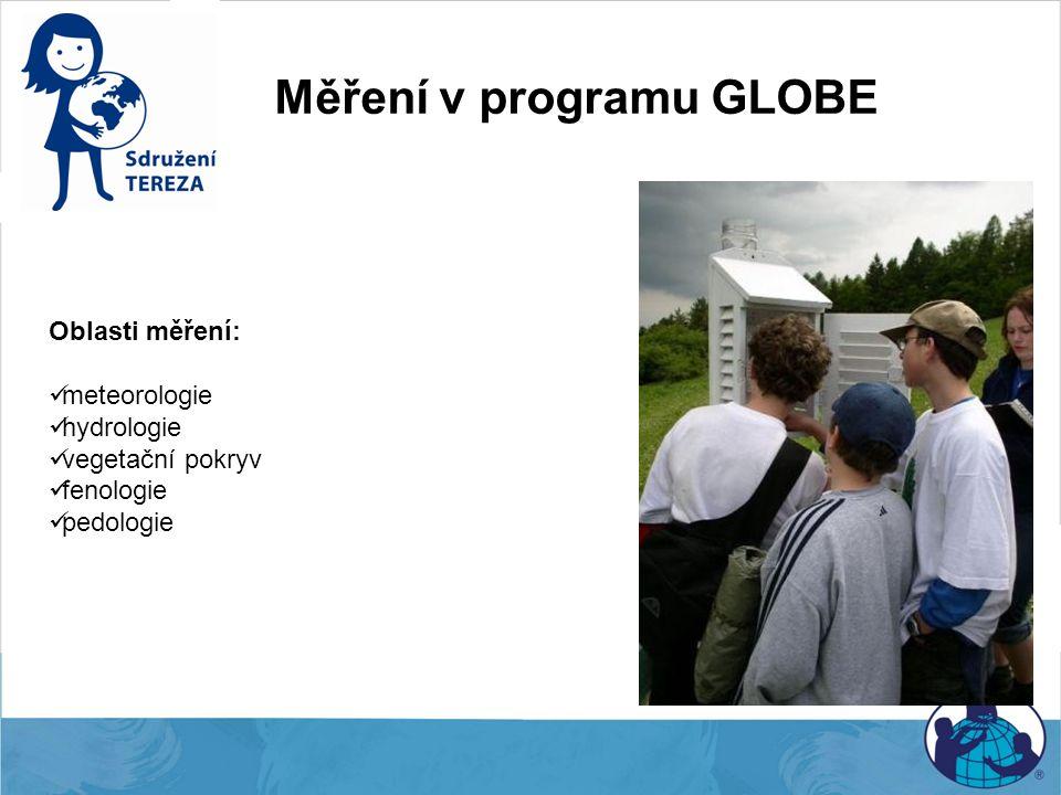 Měření v programu GLOBE