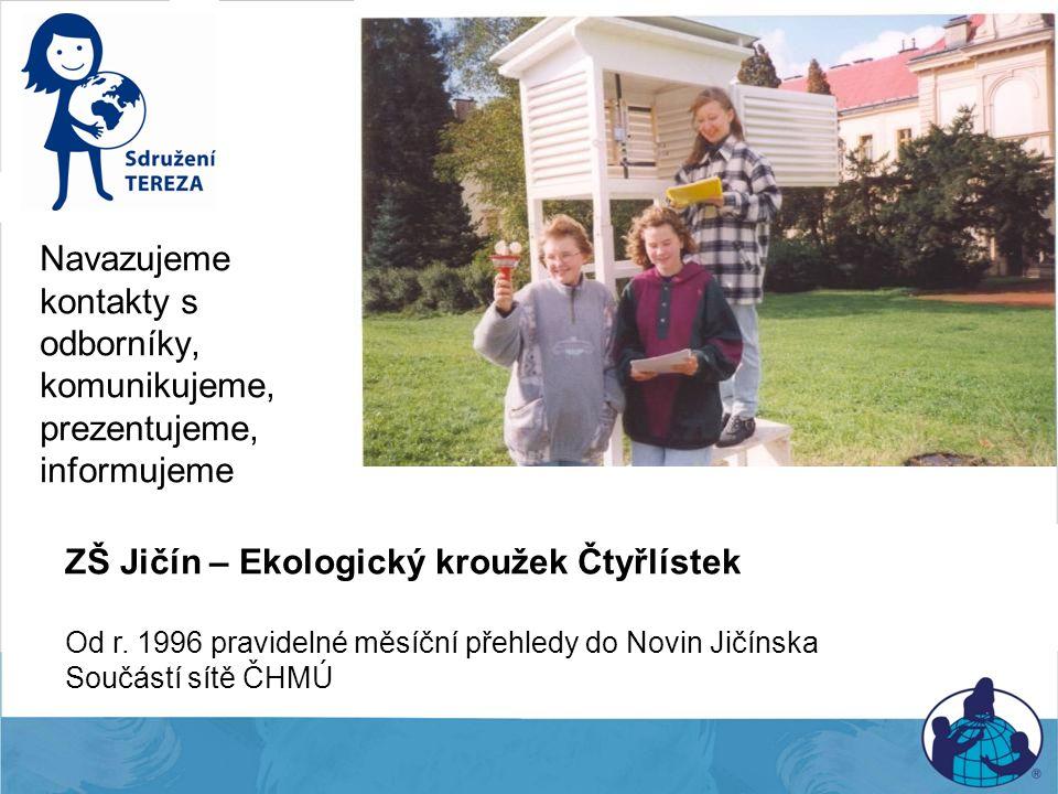 ZŠ Jičín – Ekologický kroužek Čtyřlístek