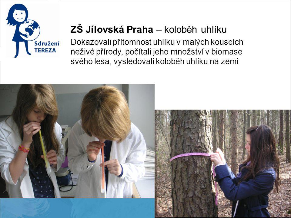 ZŠ Jílovská Praha – koloběh uhlíku