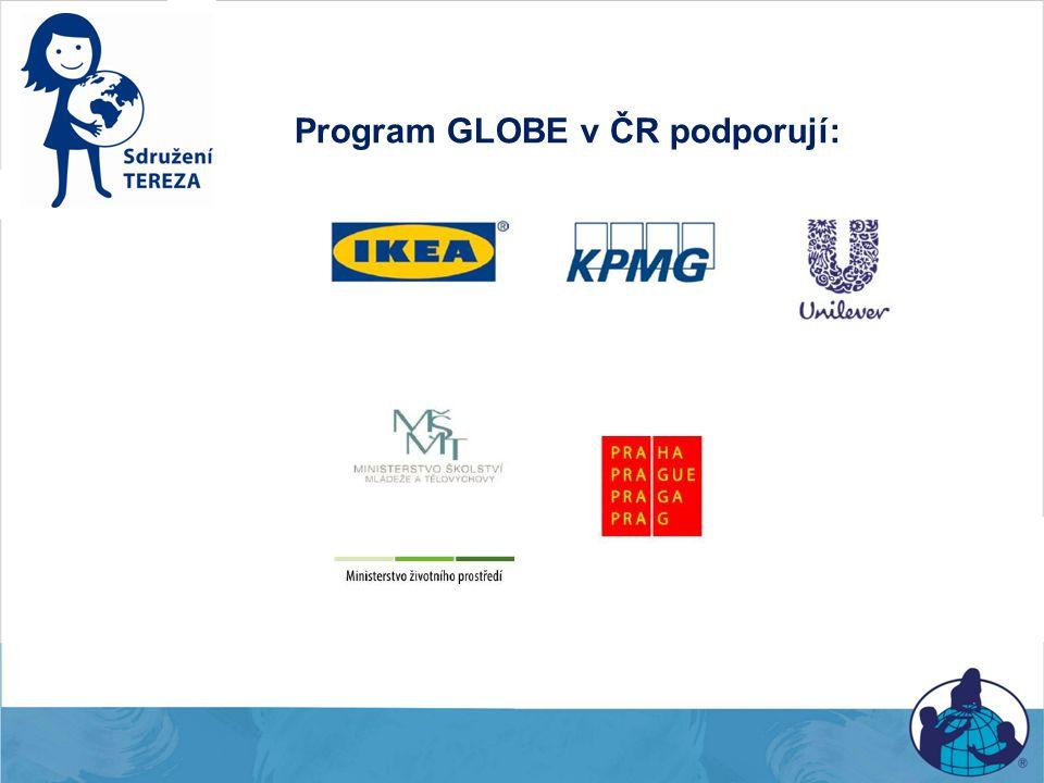Program GLOBE v ČR podporují: