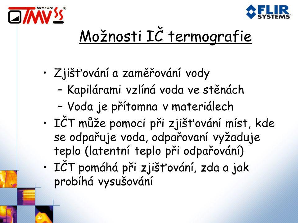Možnosti IČ termografie
