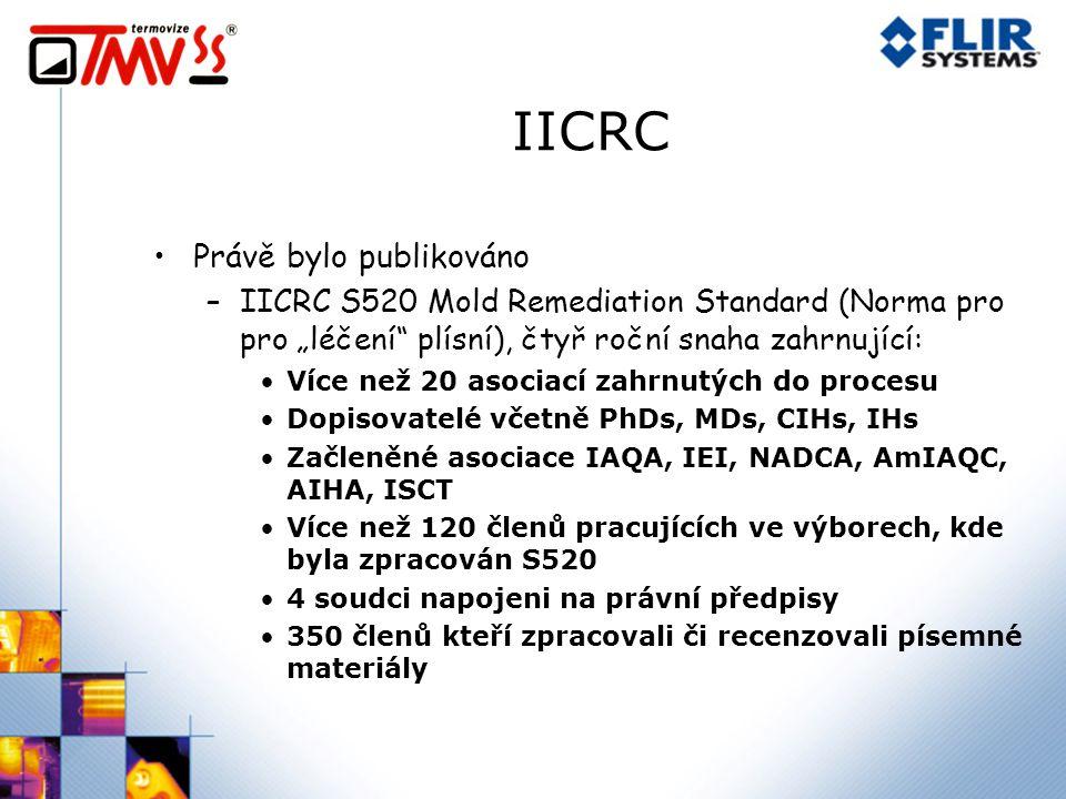 IICRC Právě bylo publikováno