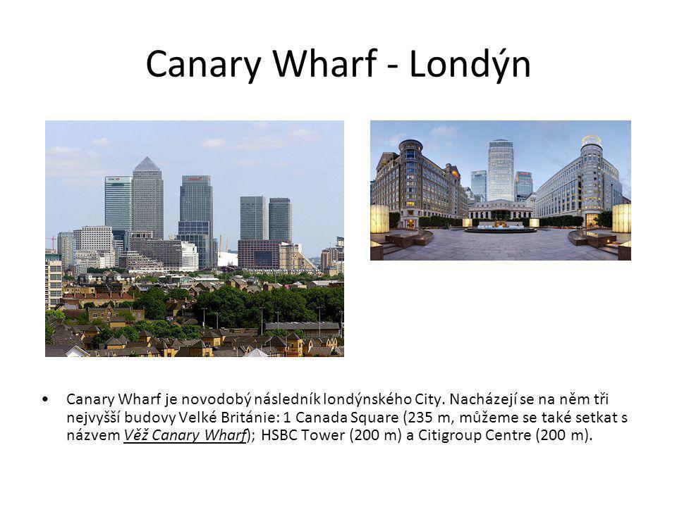 Canary Wharf - Londýn