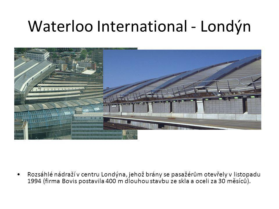 Waterloo International - Londýn