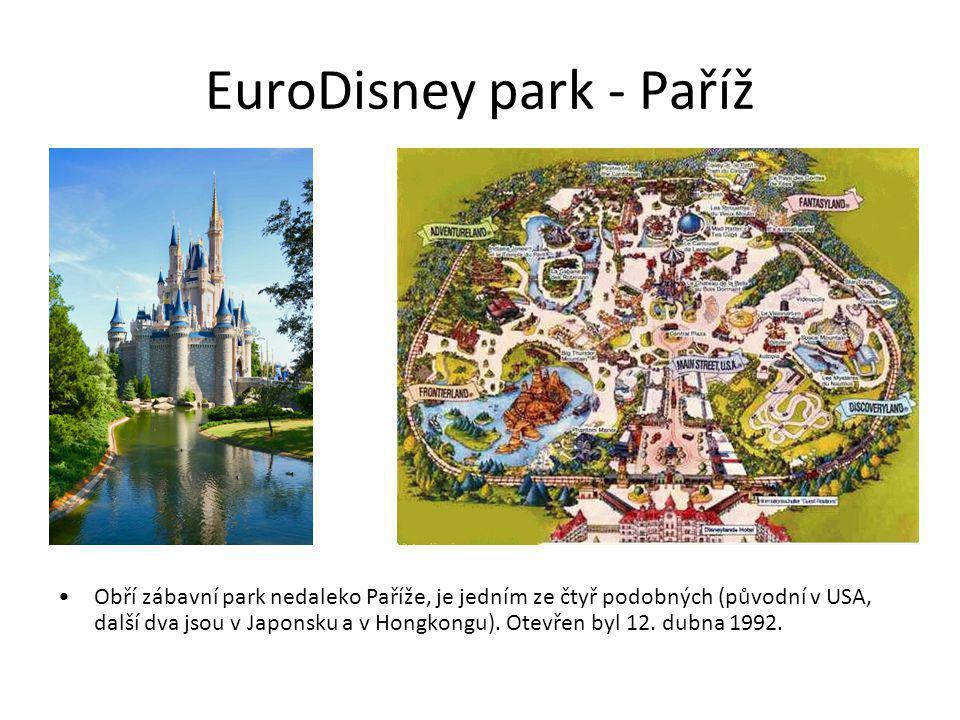 EuroDisney park - Paříž