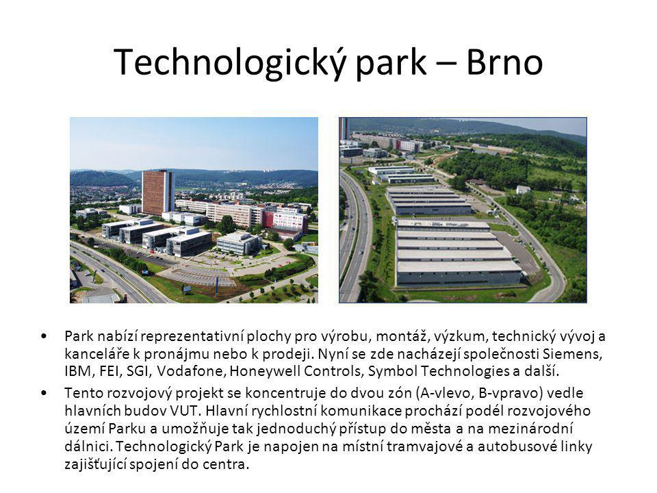 Technologický park – Brno