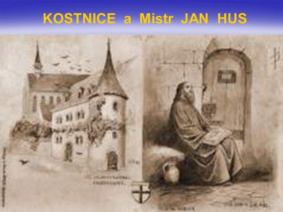 KOSTNICE a Mistr JAN HUS