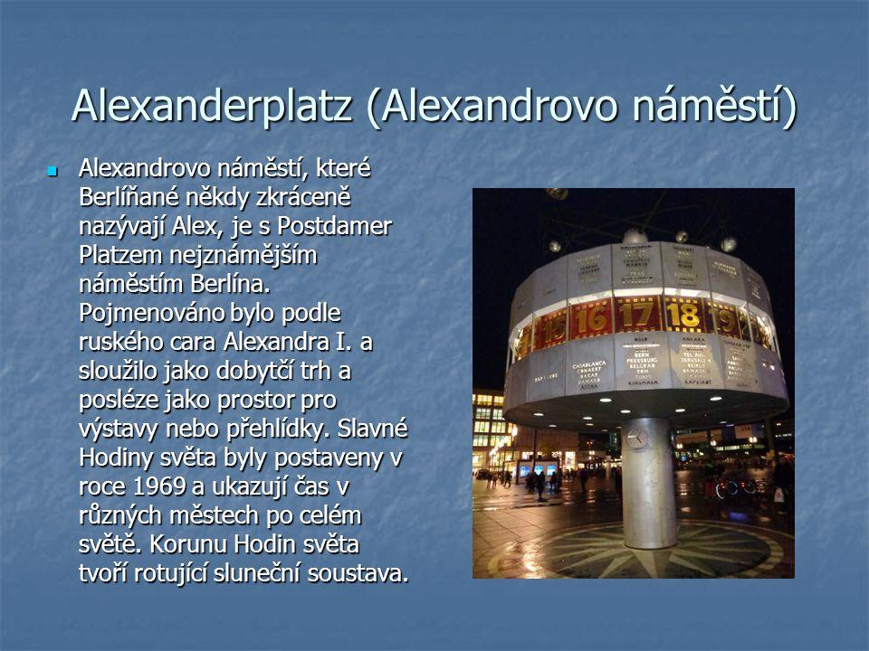 Alexanderplatz (Alexandrovo náměstí)