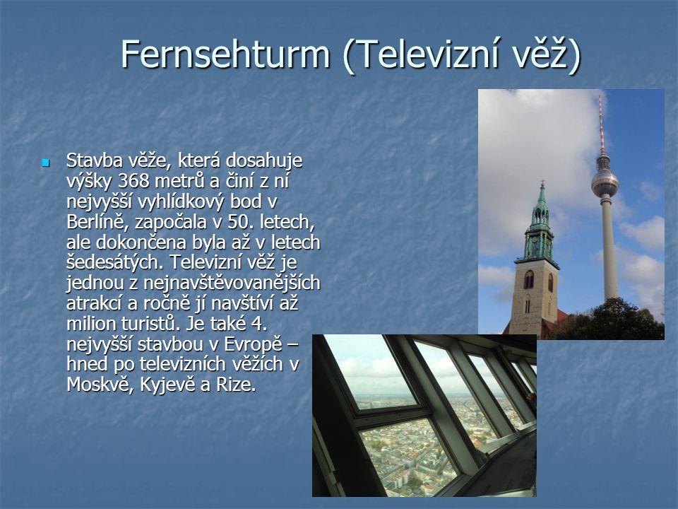 Fernsehturm (Televizní věž)