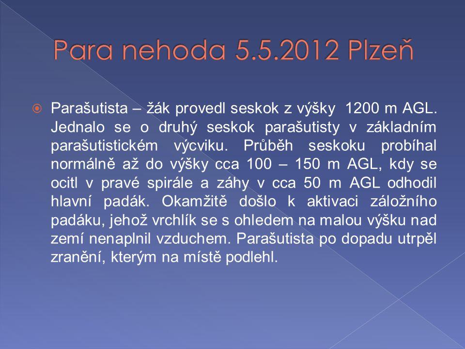 Para nehoda 5.5.2012 Plzeň