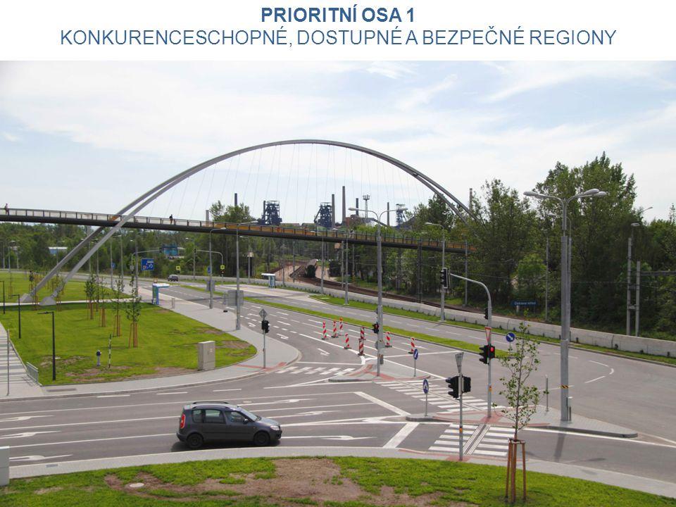 Prioritní osa 1 Konkurenceschopné, dostupné a bezpečné regiony