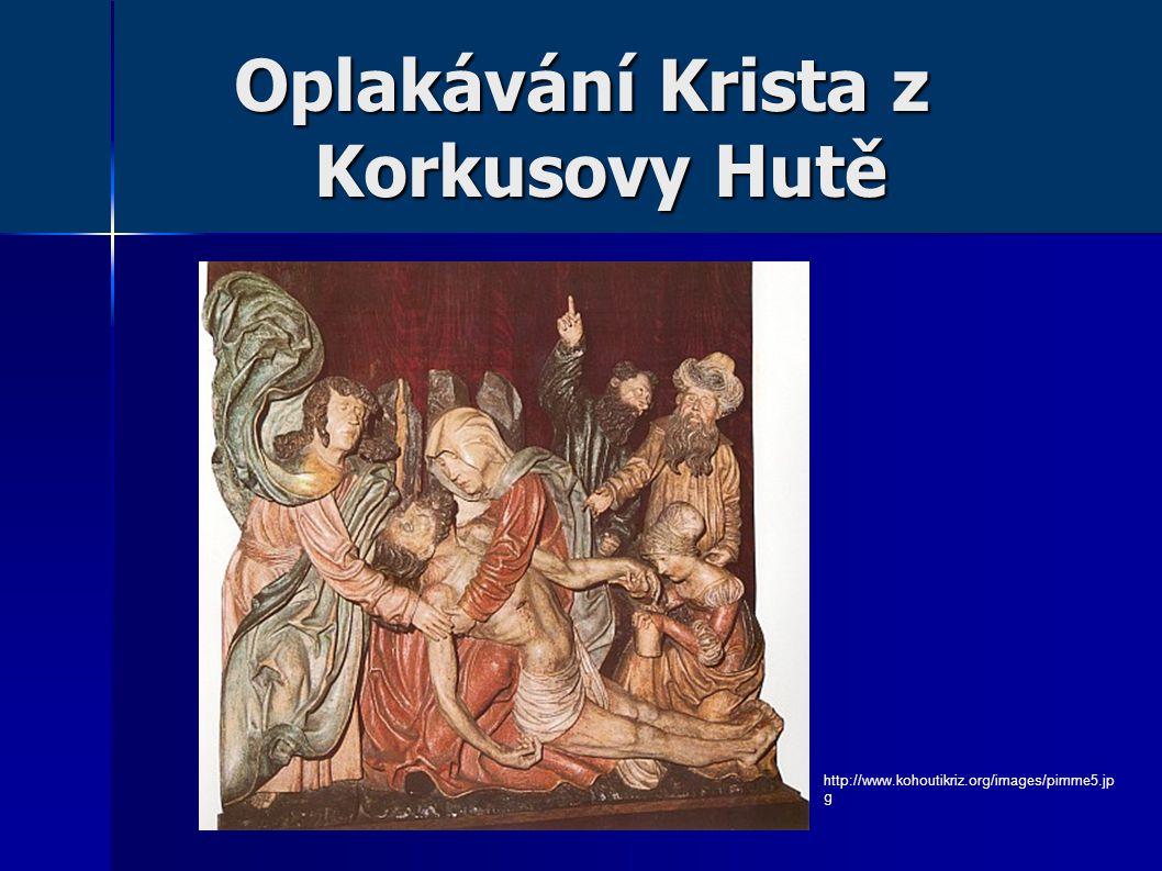 Oplakávání Krista z Korkusovy Hutě