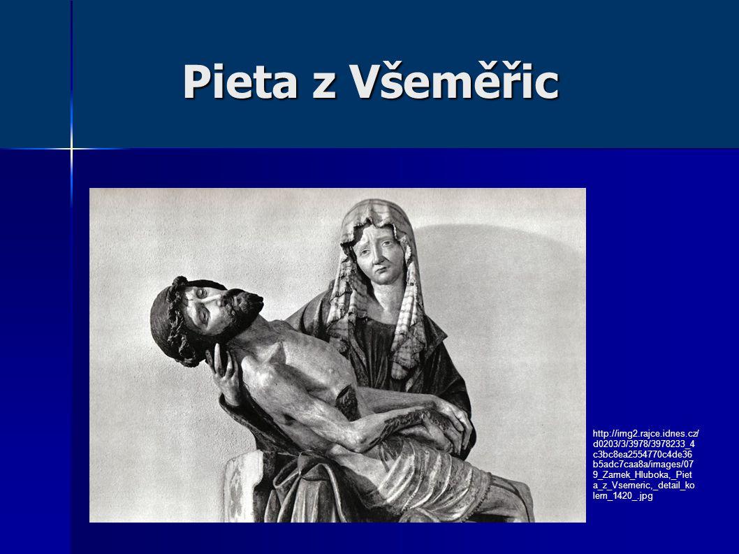 Pieta z Všeměřic